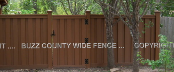 Why choose Buzz County Wide Fence Services?